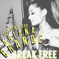 ariana grande break free remix